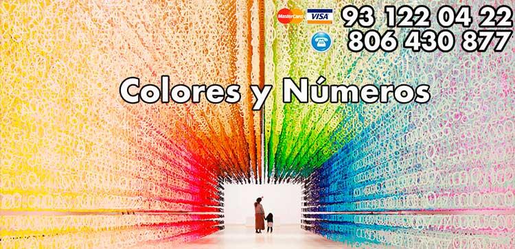 Los colores y numeros