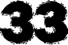 El 33 en la numerología 1
