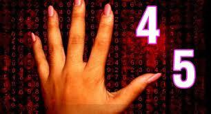 Atributos de los números Cuatro y Cinco 3