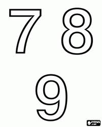 Vibración de los numero de casa Siete, Ocho y Nueve    2