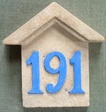 Vibración de los numero de casa Seis 3