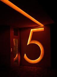 Combinación del número de destino uno y cinco 3