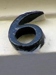 Combinación del número de destino uno y seis 3