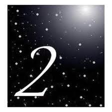 Combinación del número de destino dos y dos 1