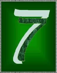 Combinación del número de destino uno y siete 3