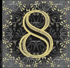 Combinación del número de destino dos y ocho 3