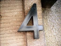 Combinación del número de destino Cuatro y Cuatro 1