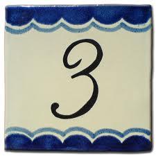 Combinación del número de destino Cinco y Tres 3