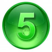 Combinación del número de destino Cinco y Cinco 1