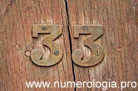 Numerología El Número Maestro 33