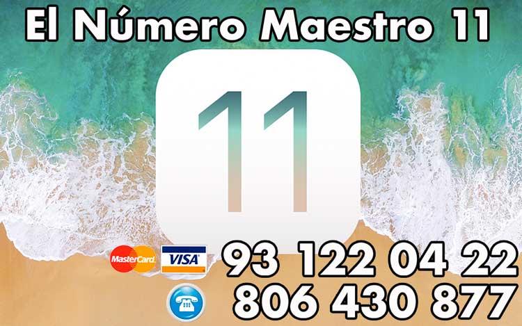 El Número Maestro 11