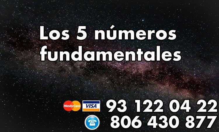 cinco números fundamentales